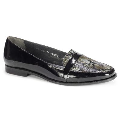 10564 Туфли женские кожа-лак