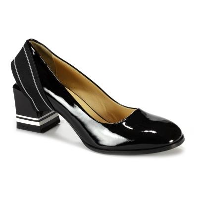 13472  Туфли женские кожа-лак