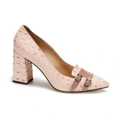 14455  Туфли женские кожа-лазер