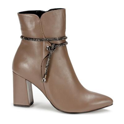 14846  Ботинки женские кожа