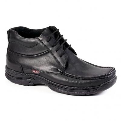 04074  Ботинки мужские кожа